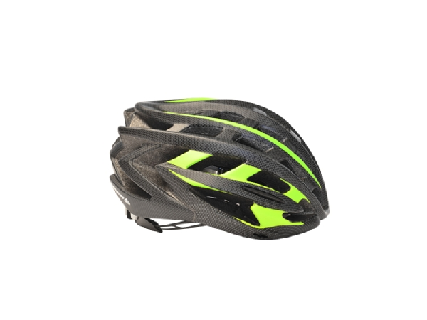 16 CASCO MERIDA HB27 MATT BLACK/GREEN L