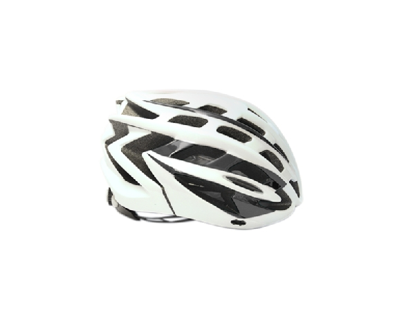 16 CASCO MERIDA HB27 SHINY WHITE/BLACK L